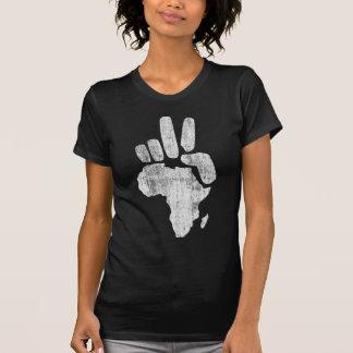 Friedenshand Darfurs Afrika T-Shirt