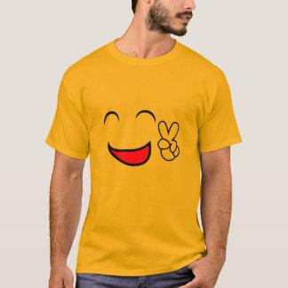Friedensheraus Emoticon-Gruppen-Kostüm