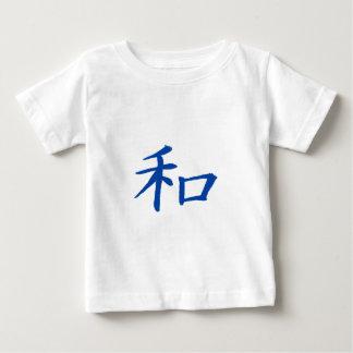FriedensKanji-Blau Baby T-shirt