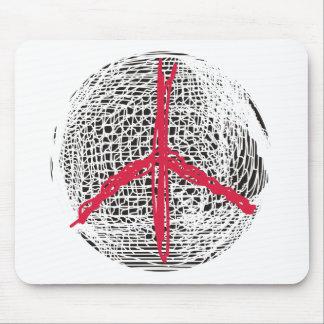 Friedenskugel kein Krieg kein Fighting keine Mauspad