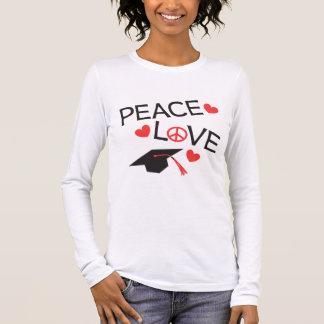 FriedensLiebe-Abschluss Langarm T-Shirt