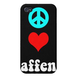 FriedensLiebe affen iPhone 4/4S Hülle