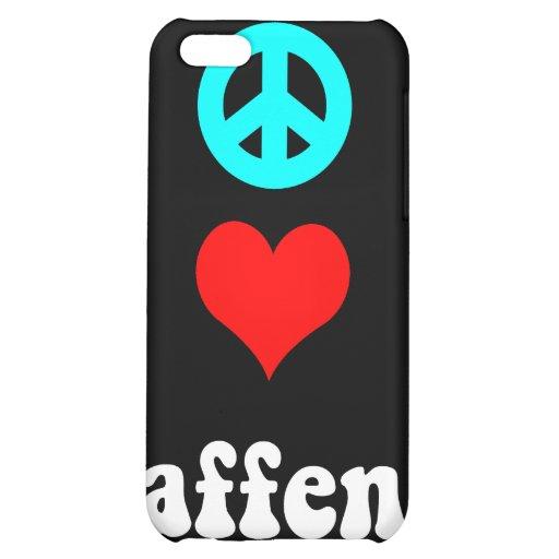 FriedensLiebe affen Hülle Für iPhone 5C