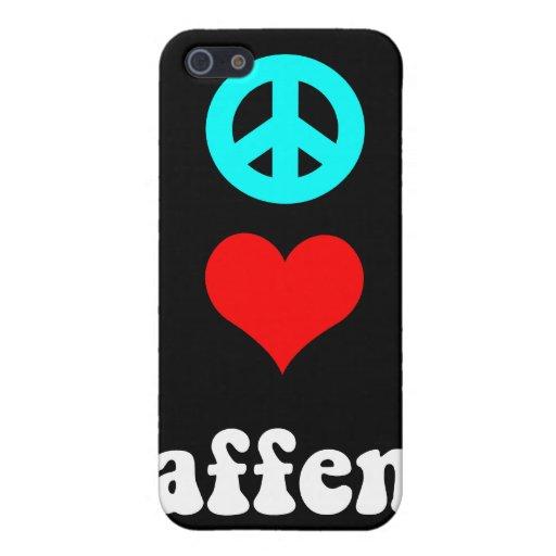 FriedensLiebe affen iPhone 5 Hülle