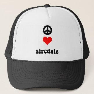 FriedensLiebe Airedale Truckerkappe