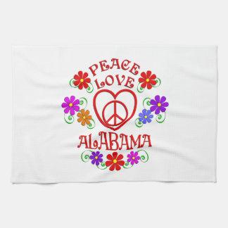 FriedensLiebe Alabama Geschirrtuch