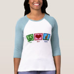 FriedensLiebe-Alpaka T Shirts