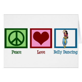 FriedensLiebe-Bauch-Tanzen Karte