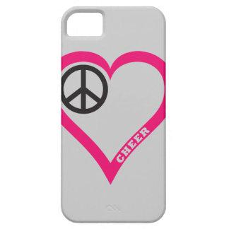 FriedensLiebe-Beifall-Telefon-Hüllen fertigen iPhone 5 Etui