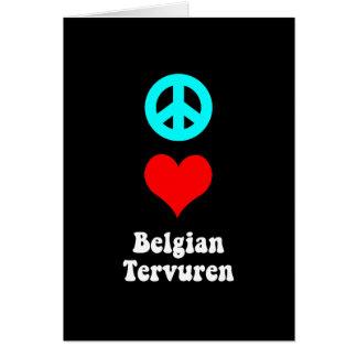 FriedensLiebe Belgier Tervuren Karte