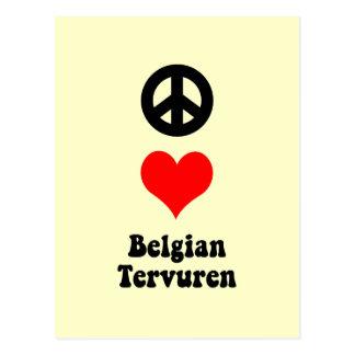 FriedensLiebe Belgier Tervuren Postkarte