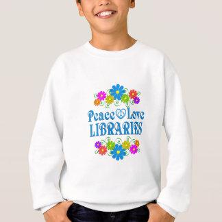 FriedensLiebe-Bibliotheken Sweatshirt
