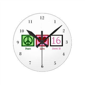 FriedensLiebe-Bonbon 16 Uhren