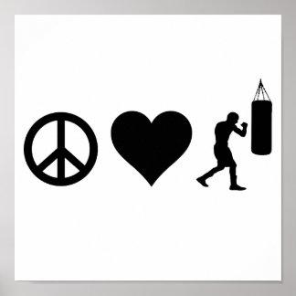 FriedensLiebe-Boxen Poster