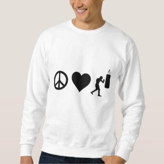 FriedensLiebe-Boxen Sweatshirt