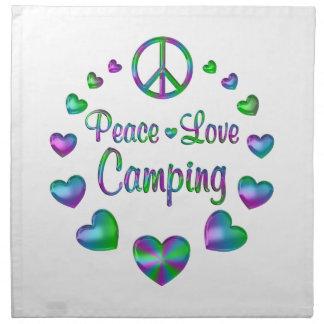 FriedensLiebe-Camping Serviette