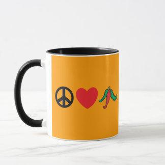FriedensLiebe-Chile-Paprikaschoten Tasse
