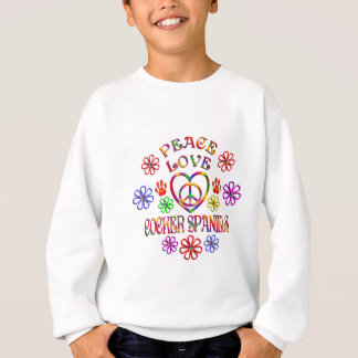 FriedensLiebe-Cockerspaniel-Spaniels Sweatshirt