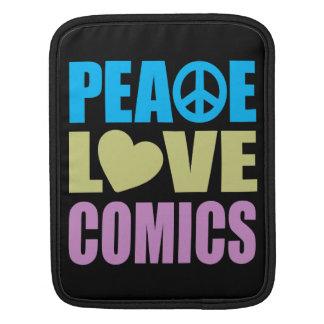FriedensLiebe-Comicen Sleeve Für iPads