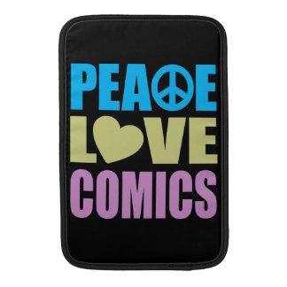 FriedensLiebe-Comicen Sleeves Fürs MacBook Air