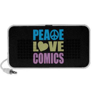 FriedensLiebe-Comicen Reise Lautsprecher