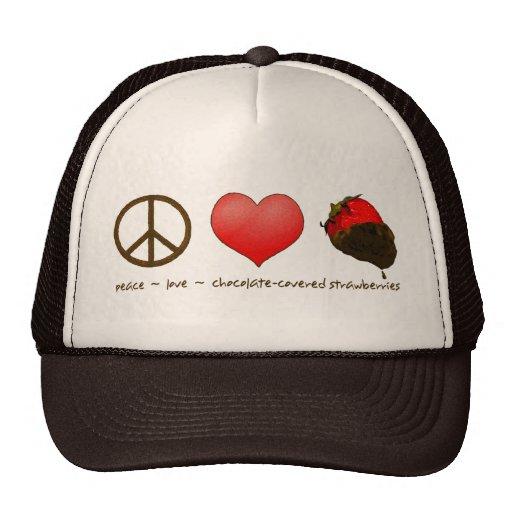 FriedensLiebe-Erdbeeren Caps