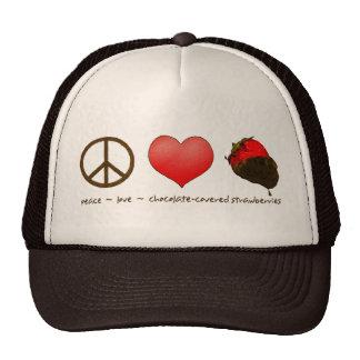 FriedensLiebe-Erdbeeren Kult Kappen