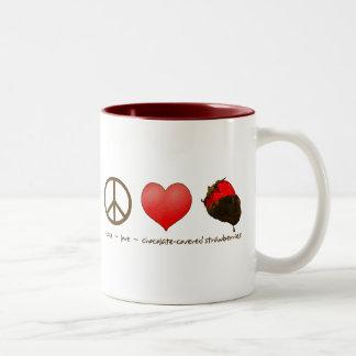 FriedensLiebe-Erdbeeren Tassen