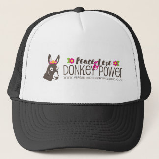 FriedensLiebe-Esel-Power-Logo Truckerkappe