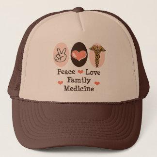FriedensLiebe-Familien-Medizin-Hut Truckerkappe