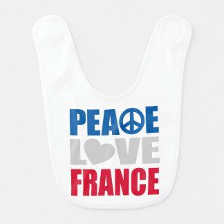FriedensLiebe Frankreich Lätzchen