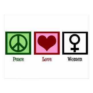 FriedensLiebe-Frauen Postkarte