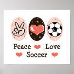 FriedensLiebe-Fußball-Plakat
