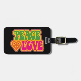 FriedensLiebe Gepäckanhänger