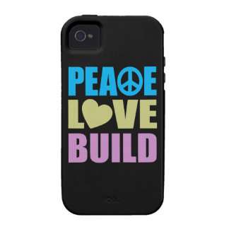 FriedensLiebe-Gestalt Case-Mate iPhone 4 Hüllen