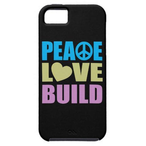 FriedensLiebe-Gestalt iPhone 5 Etuis