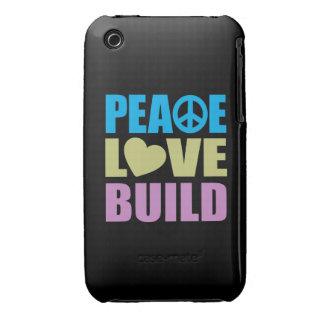 FriedensLiebe-Gestalt iPhone 3 Covers