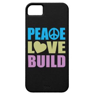 FriedensLiebe-Gestalt iPhone 5 Hülle