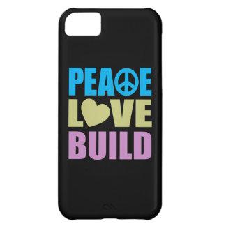 FriedensLiebe-Gestalt iPhone 5C Hülle