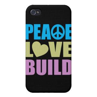 FriedensLiebe-Gestalt iPhone 4 Hülle