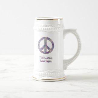FriedensLiebe-Glück 5 Bierglas