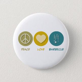 FriedensLiebe-Grill Runder Button 5,7 Cm