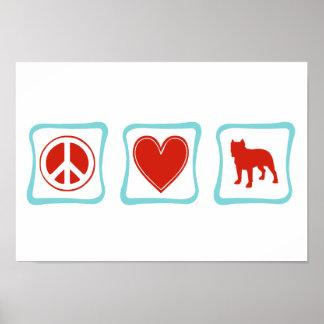 FriedensLiebe-Gruben-Stiere Poster