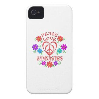 FriedensLiebe-Gymnastik Case-Mate iPhone 4 Hülle