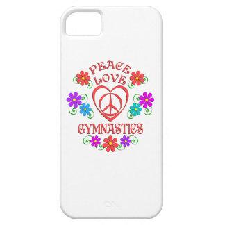 FriedensLiebe-Gymnastik iPhone 5 Etuis
