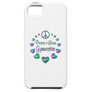 FriedensLiebe-Gymnastik iPhone 5 Hüllen