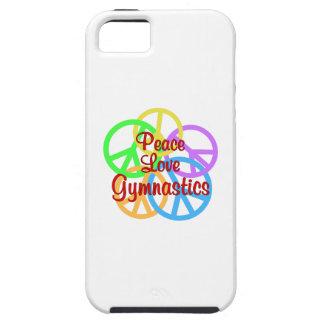 FriedensLiebe-Gymnastik iPhone 5 Schutzhülle