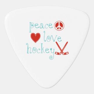 FriedensLiebe-Hockey Plektron