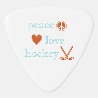 FriedensLiebe-Hockey Plektrum