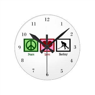 FriedensLiebe-Hockey Uhr